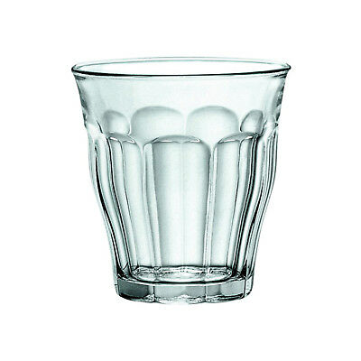 6x Duralex Tumbler, 220mL, Picardie, Commercial Coffee or Beverage Glass