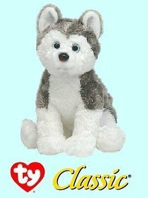 "Ty® 11"" Slush Classic® Large Siberian Husky CUTE & CUDDLY - CURRENT VERSION"