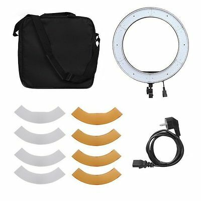 "Meking Dimmable 18"" 18in 240 Pcs 50W Adjustable LED Ring Light Camera Photo"