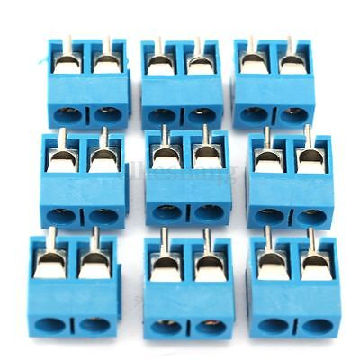20 x 2-Pin 2 way Screw Terminal Block Connector 5.08mm Pitch PCB Mount 16A 300V
