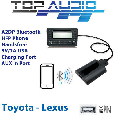Car Bluetooth USB AUX Input hands free A2DP Audio Kits Interface Adaptor Toyota