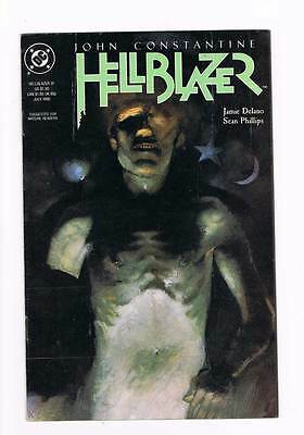 Hellblazer # 31 Mourning of the Magician ! Constantine grade - 7.5 scarce book !