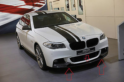 Bmw 5 F10 F11 Performance Look Front Bumper Spoiler / Lip / Valance / Splitter