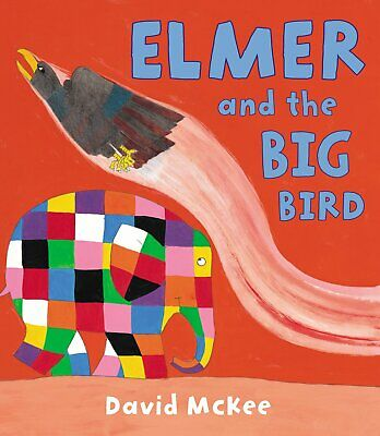 Elmer and the Big Bird by David McKee (Paperback) New Book