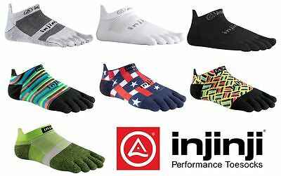 Injinji Lightweight No-Show Performance 2.0 Run Toe Socks XTRALIFE