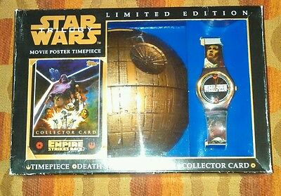Star Wars Trilogy Limited Edition Movie Poster Timepiece