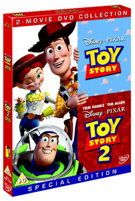 Toy Story/Toy Story 2 DVD (2010) John Lasseter cert PG FREE Shipping, Save £s
