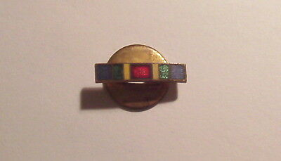 VINTAGE WW I Victory Medal Button Hole LAPEL PIN