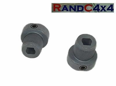 STC987 x2 Land Rover Series & Defender Windscreen Wiper Motor Spindle Adaptors