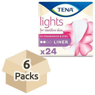 Lights by TENA - Liners - Case Saver - 6 Packs of 24