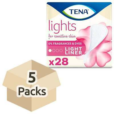Lights by TENA - Light Liners - Case Saver - 5 Packs of 28