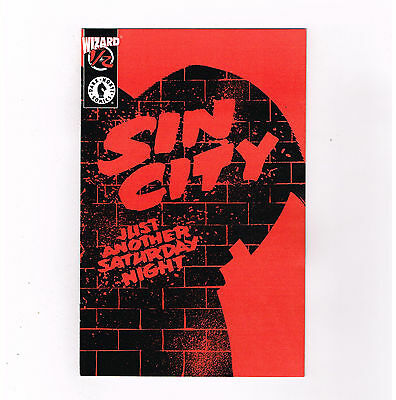 SIN CITY JUST ANOTHER SATURDAY NIGHT #1/3 Limited Wizard edition! No COA! NM