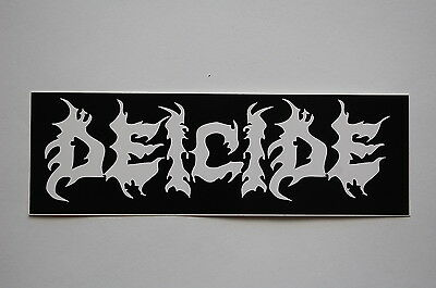 Deicide Sticker Decal (S130) Black Metal Rock Dissection Slayer Car