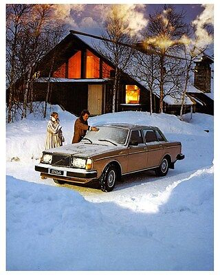 1980 Volvo 264 Bertone Automobile Photo Poster zca3617