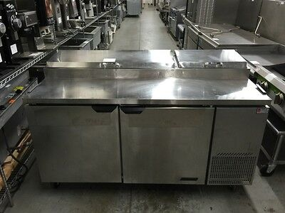 """Turbo Air TPR-67SD - 67"""" Pizza Prep Table - Refurbished"""