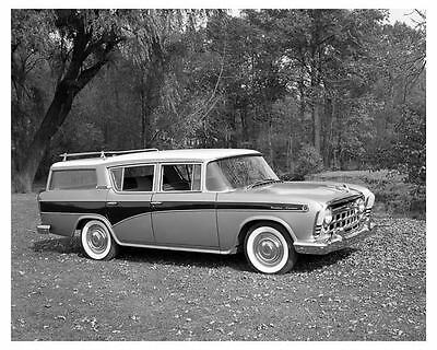 1957 Rambler Custom Station Wagon Factory Photo uc3248-LROIEZ