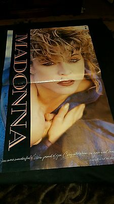 Madonna Like A Virgin Tour Rare Original Promo Poster Ad Framed!