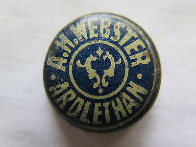 CROWN SEAL BOTTLE CAP A H WEBSTER ARDLETHAN NSW AUSTRALIA in USED CONDITION