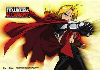 Fullmetal Alchemist Wall Scroll Poster Anime Manga MINT