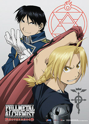 Fullmetal Alchemist Brotherhood Wall Scroll Poster Anime Manga MINT