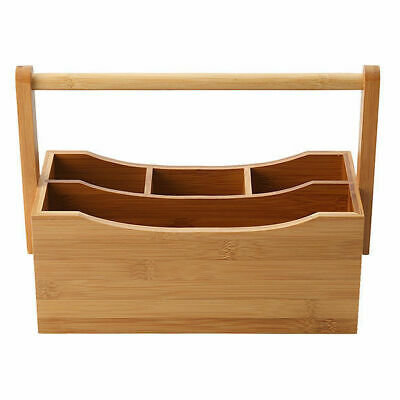 Maxwell & Williams Bamboozled Utensil / Condiment Caddy Holder, 140x275x200mm