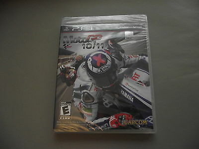 *new Sealed* Moto Gp Motogp 10/11 Playstation Usa Issue Ps3 Game