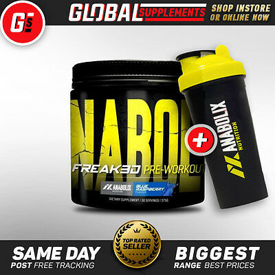 Anabolix Nutrition Freak3d (30 Serves) Energy Endurance Pre Workout