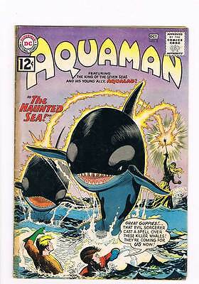 Aquaman # 5 The Haunted Sea ! Aqualad grade 3.5 scarce book !!