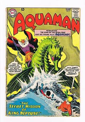 Aquaman # 9 The Secret Mission of King Neptune ! grade 2.5 scarce book !!