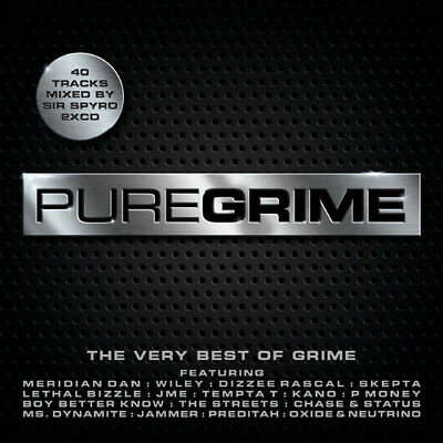 Various Artists Pure Grime- The Very Best Of Grime CD ***NEW***