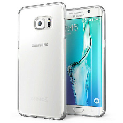 Clear Transparent Silicone Soft Gel Case Cover For Samsung Galaxy S6 Edge Plus