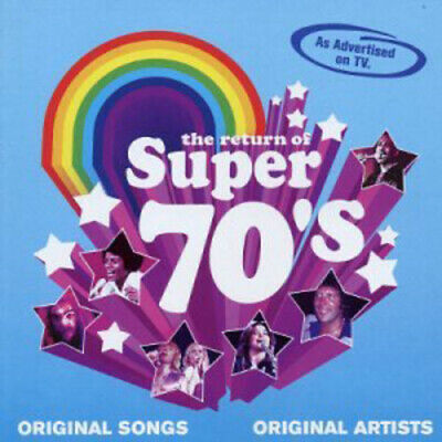 Various Artists : The Return of Super 70's CD 2 discs (2003) Fast and FREE P & P