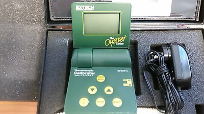 Extech Oyster Series 433201A 433201 Thermocouple Calibrator Free Shipping Qa