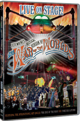 Jeff Wayne's the War of the Worlds - Live On Stage DVD (2006) Jeff Wayne