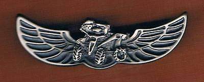 ISRAEL IDF  All TERRAIN VEHICLE OPERATOR QUALIFICATION  BADGE EXTREME RARE PIN