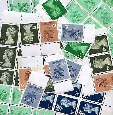 Stamps with full gum for Postage. Post Free. Multiple Listing.