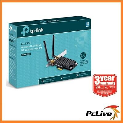 TP-Link Archer T6E 1300mbps Dual Band Wireless AC Adapter 2.4G / 5G WIFI AC1300