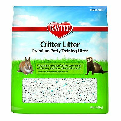 Super Pet Critter Litter by Kaytee (8-pound) (1000794) non-toxic 100%  bentonite