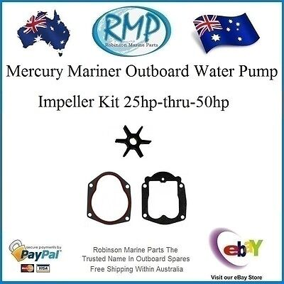 A Brand New Mercury Mariner Water Pump Impeller Kit 25hp-thru-50hp # R 47-85089