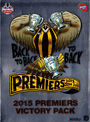 AFL Premiers Victory Pack Hawthorn Back to Back to Back  2013 2014 2015 NEW DVD