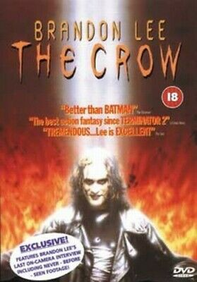 The Crow DVD (1999) Brandon Lee, Proyas (DIR) cert 18 FREE Shipping, Save £s