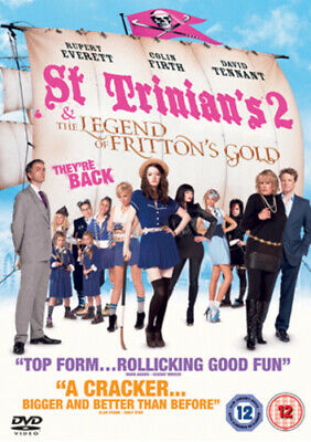 St Trinian's 2 - The Legend of Fritton's Gold DVD (2010) Colin Firth