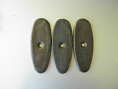 M1 CARBINE BUTTPLATES - LOT OF 3