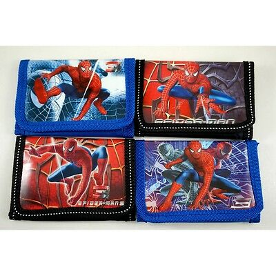 NEW Spiderman Spider-Man Kids Boys Childs Purse Coins Wallet Party Bag + GIFT