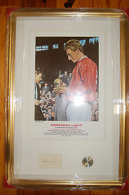 Denis Law  Manchester United ' Player Of Year' 1964  Signed Print