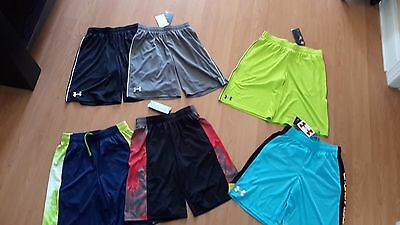 Under Armour Boys Gym/ Sport Shorts, Many Styles & Colors, MSRP $19.99-$34.99