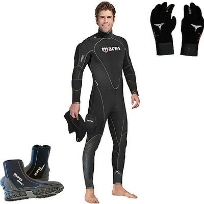 DE Mares Flexa Therm 6,5mm Man size kit gloves trilastic  + boots