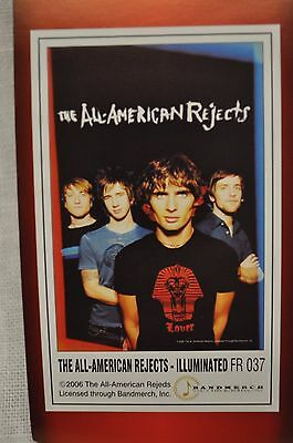 All American Rejects Illuminated  Poster Flag Tapestry New