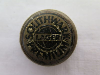 CROWN SEAL BOTTLE CAP SOUTHWARK PREMIUM LAGER SOUTHWARK BREWERY STH AUST c1950s