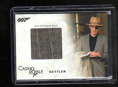 James Bond in Motion SC04 costume card 147/800